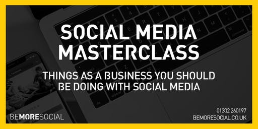 Be More Social - Social Media Masterclass - GRIMSBY