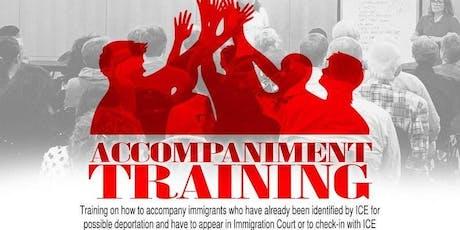 Immigration Accompaniment Training tickets