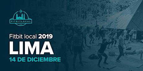 Fitbit Local Lima 2019 entradas