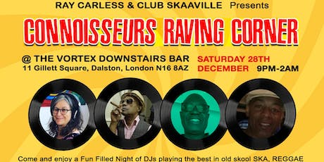 Connoisseurs Raving Corner Christmas Party tickets