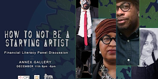 How to not be a Starving Artist – Financial Literacy Panel Discussion