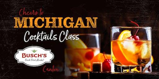 Michigan Craft Cocktail Class