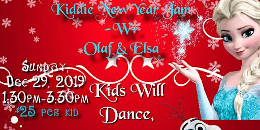 Kiddie New Year Jam with Olaf & Elsa