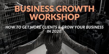 Women's Business Growth Workshop tickets