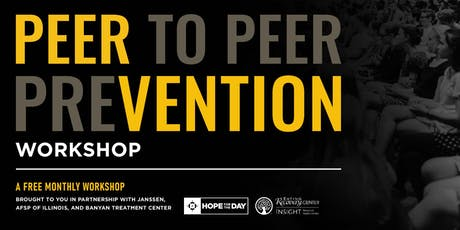 December PEERvention Workshop featuring Eating Recovery Center & Insight Behavioral Health Centers tickets