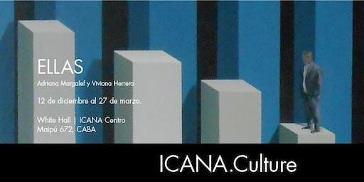 """Art at the White Hall   """"ELLAS""""  - Adriana Margalef y Viviana Herrera"""