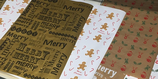 Christmas Wrapping Paper Workshop