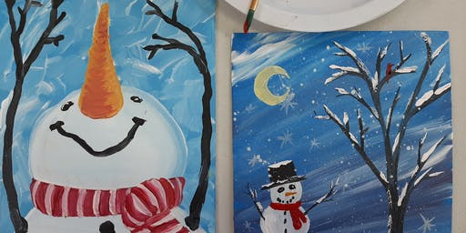 December Cookies & Canvas