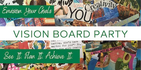 Come Get Inspired - Vision Board Party tickets