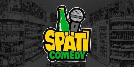 Späti Comedy am 14. Dezember [Aufzeichnung] tickets