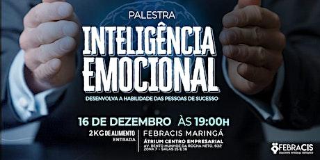 [Maringá/PR] Palestra Inteligência Emocional 16/12 ingressos