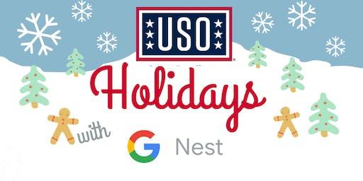 USO Holidays with Google Nest
