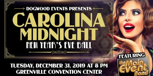 Carolina Midnight Roaring 20's New Year's Eve Ball