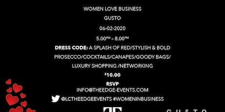 WOMEN LOVE BUSINESS tickets