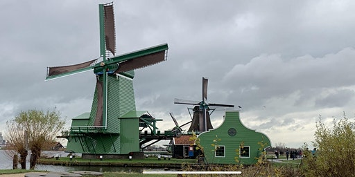 Visit the Amsterdam countryside, with windmills, cheese and clogs.