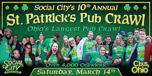 SOCIAL CITY'S 10TH ANNUAL ST. PATRICK'S PUB CRAWL