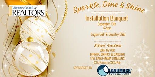Sparkle Dine & Shine, WCR Installation Banquet