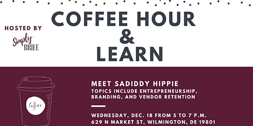 Delaware Coffee Hour and Learn Event