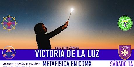 VICTORIA DE LA LUZ: Metafísica en CDMX boletos