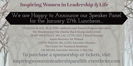 Inspiring Women in Leadership & Life Annual Luncheon tickets