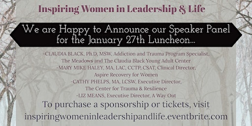 Inspiring Women in Leadership & Life Annual Luncheon