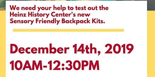 Sensory Bag Fun with Heinz History Center