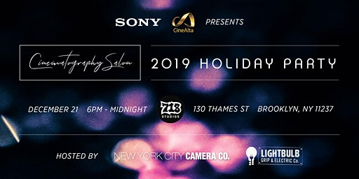 2019 Cinematography Salon Holiday Party