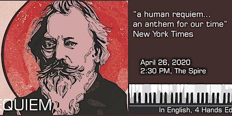 Brahms Requiem tickets