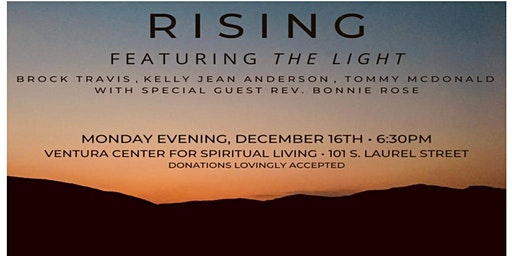 RISING featuring THE LIGHT Concert