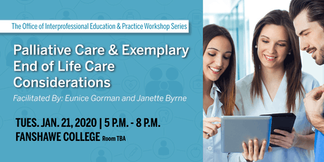 Palliative Care & Exemplary End of Life Care Considerations tickets