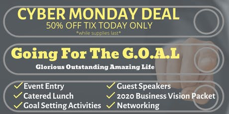 Cyber Monday DEAL~ Going For The GOAL! tickets