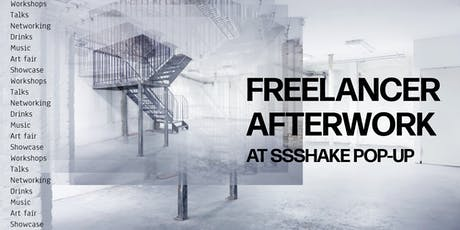 SSSHAKE Afterwork Drinks for creative freelancers tickets