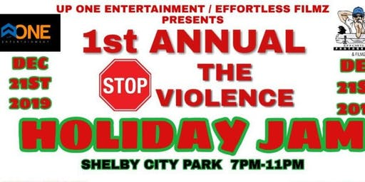 Copy of STOP The Violence Holiday Jam