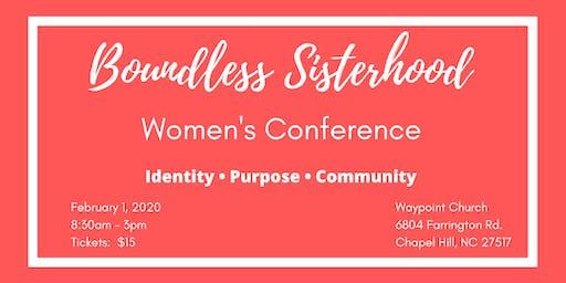 Boundless Sisterhood Women's Conference