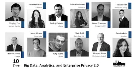 Big Data, Analytics, and Enterprise Privacy 2.0 tickets