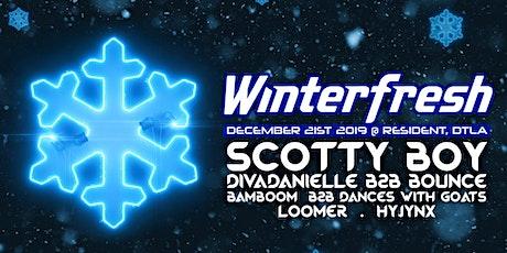 Winterfresh feat. Scotty Boy tickets