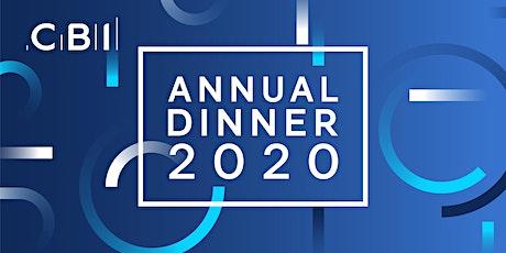 CBI North East Annual Dinner 2020 tickets