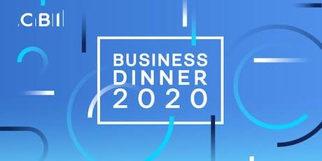 CBI Business Dinner - Cumbria  tickets