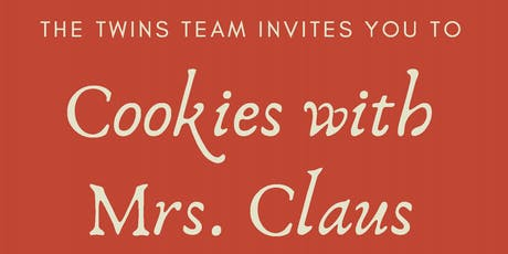 The Twins Team at KW Metro: Cookies with Mrs. Claus tickets