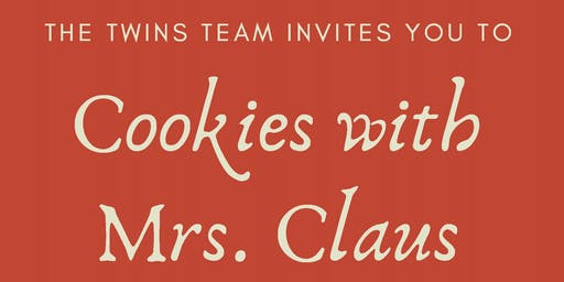 The Twins Team at KW Metro: Cookies with Mrs. Claus