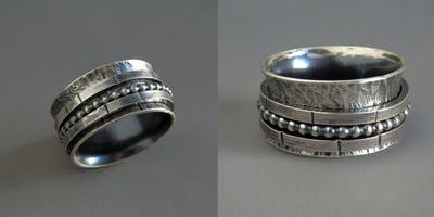Discover Jewelry: Spinner ring