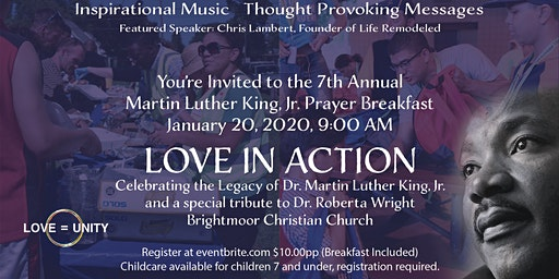 Love in Action:  Celebrating the Legacy of Dr. Martin Luther King, Jr.