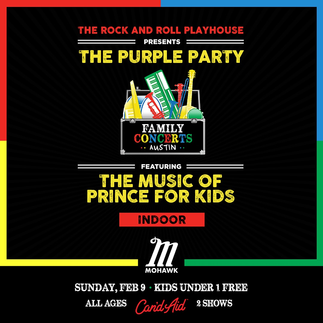 The Purple Party ft. Music of Prince for Kids