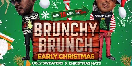 Brunchy Brunch : Christmas tickets