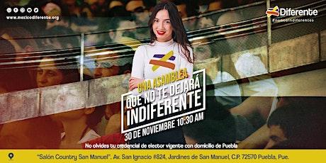 Asamblea Diferente Puebla MX entradas