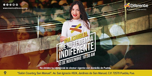 Asamblea Diferente Puebla MX