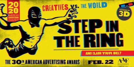 2020 American Advertising Awards tickets