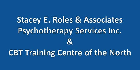 Intensive 4 Day CBT Training & Supervision (live online or onsite) tickets