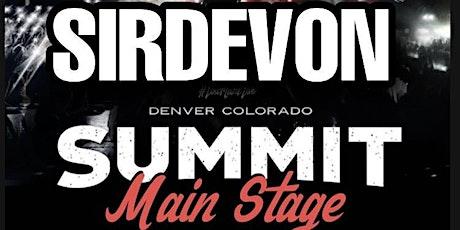 SIRDEVON LIVE tickets