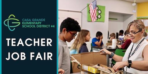Teacher Job Fair ~ Casa Grande Elementary School District
